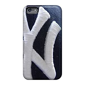 Excellent Hard Phone Cover For Apple Iphone 6 (EQJ2663sUjx) Support Personal Customs HD Ny Yankees Image