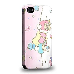 Diy iphone 5 5s case The most popular Little Twin Star Kiki And Lala Dreamy Diary 1315 Protective Snap-on Hard Back Case Cover for Apple iPhone 5 5s