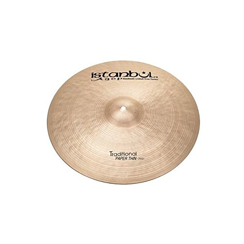 Istanbul Agop 17'' Traditional Paper Thin Crash ISPTC17