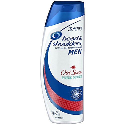 Head & Shoulders Old Spice Dandruff Shampoo for Men 13.5 oz (Pack of 18) by Head & Shoulders