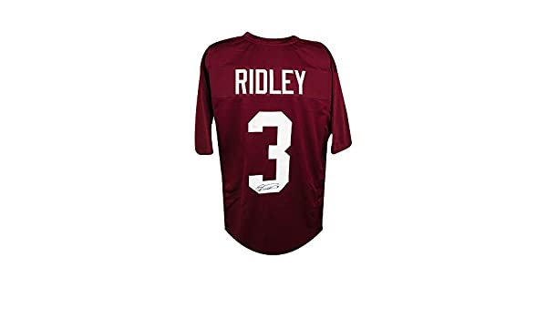 8769c5a80 Calvin Ridley Autographed Alabama Crimson Tide Custom Football Jersey - JSA  COA at Amazon s Sports Collectibles Store