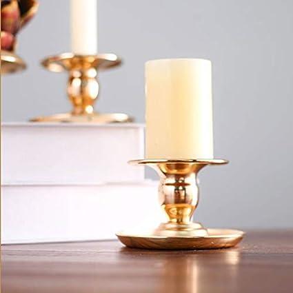 XCVB 1pc Nordic Creative Candle Holders Pilar Candlestick Stand Candle Holder Fiesta de Navidad Decoraci/ón del hogar