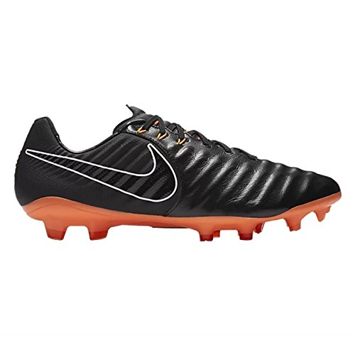 bd03ba272 Nike Legend 7 Pro FG Men Soccer Cleats-Black Orange Size  9