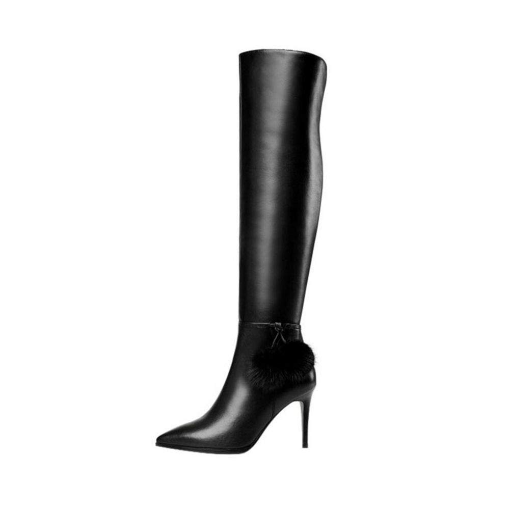 bd2751a792c91 Amazon.com: YaXuan Women's Fashion Boots,Fall Winter Over-Knee ...