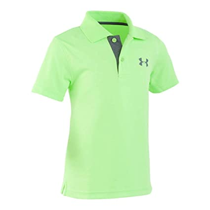 5196ee6c3 Amazon.com  Under Armour Boys  Toddler UA Match Play Polo  Sports ...