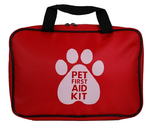 Pet First Aid Kit, Large - 50 Pieces (Steps To Take To Become A Veterinarian)