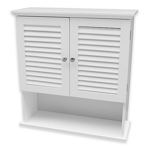 Summit Wall Cabinet in White by Summit Wall