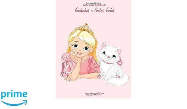 Livro Para Colorir De Gatinhos E Gatos Fofos 2 Volume 2
