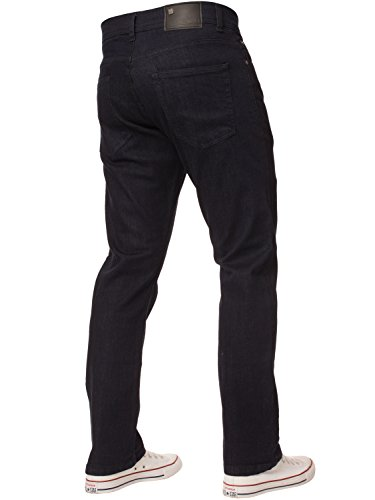 Denim Nuovo Classici Da Stretch Basic Enzo Regular Jeans Blu Gamba Fit Dritta Uomo 4wq6vT4