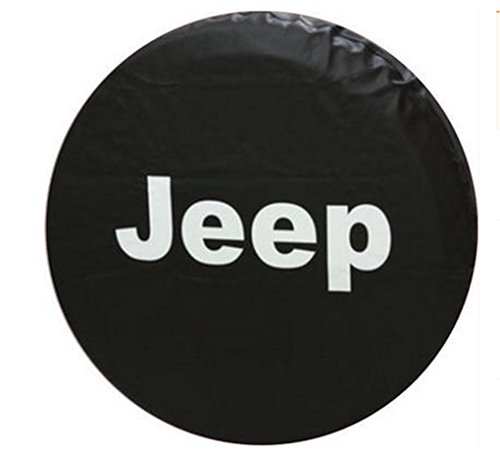 Styling Canvas Spare Tire Cover 17 Inch For Jeep Wrangler,Rubicon,Liberty 4 Size Car Spare Wheel Cover