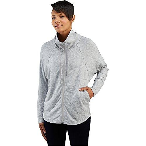 Merrell Women's Swallowtail Full Zip Fleece, Sidewalk Heather, X-Small