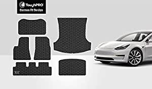 Amazon.com: ToughPRO Tesla Model 3 Floor Mats Set - Frunk ...