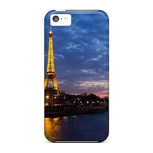 Williams6541 SuR1135goWs Case Cover Iphone 5c Protective Case Eiffel Tower Paris France
