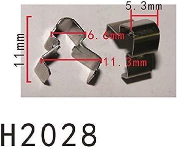 C-Clamp Fit For HONDA 5PCS AUTOBAHN88 Metal Clip