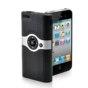Mini projector for iphone 4 and 3gs sd av in for Pocket projector for iphone 5