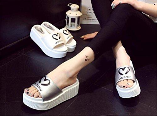 Sandali Tacco Alto Da Donna Con Plateau Modello Sandali Semplici