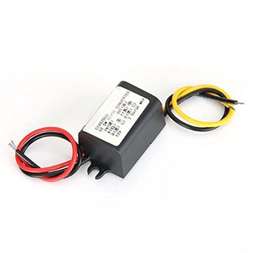 TOOGOO(R) Convertisseur DC Impermeable Convertisseur de transformateur de courant DC 12V a 7.5V 3A Nouveau 031148