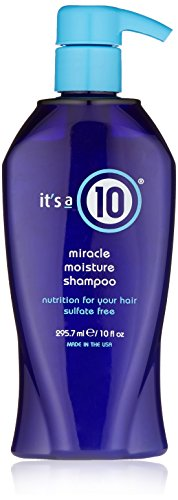 It's A 10 Miracle Moisture Shampoo, 10-Ounce Bottle