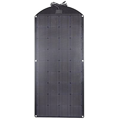 Lensun Special 100W 12V Black Fiberglass Flexible Solar Panel Kit