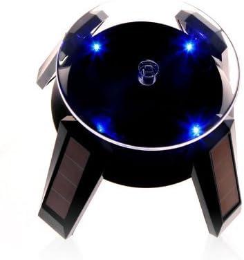 Solar Energy Powered Rotating Display Stand Sunglasses Glasses Display Holder