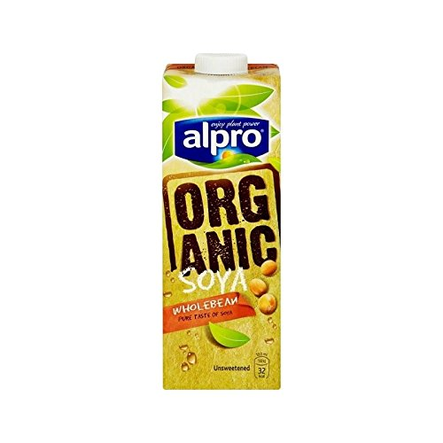 Alpro Longlife Orgánicos De Soja Sin Azúcar 1 Litro De Leche Alternativos - (Paquete de