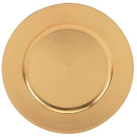 Amazon.com: Mesa clásicos Oro Cargador Placas Pkg/12 trg ...