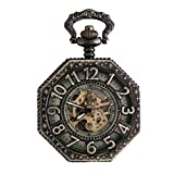 POPETPOP Pocket Watch with Chain-Personalized Retro