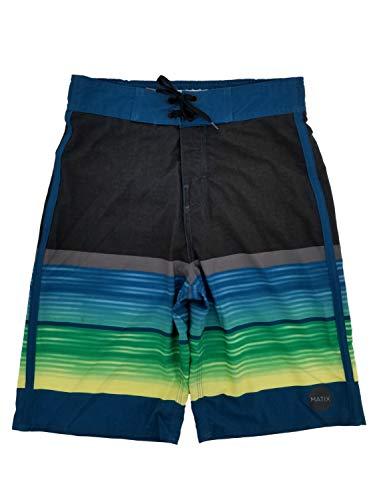 Matix Boys Blue & Black Surf Shorts Swim Trunks Board Shorts L14/16 ()