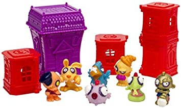 Zomlings Blister 7 Figures/4 Towers & Mansion (Series 1) by Zomlings: Amazon.es: Juguetes y juegos