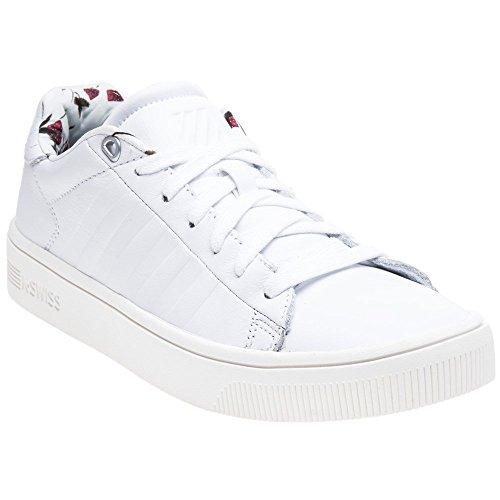 K-Swiss Women's Court Frasco Liberty Sneaker, White/Marshmallow, 8.5 M US