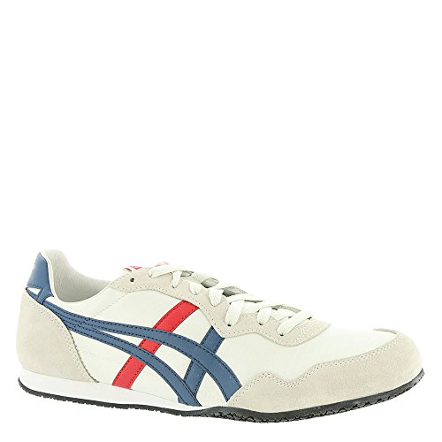 Asics Onitsuka Tiger Serrano Sneakers, 6.5 UK, White/Mallard Blue