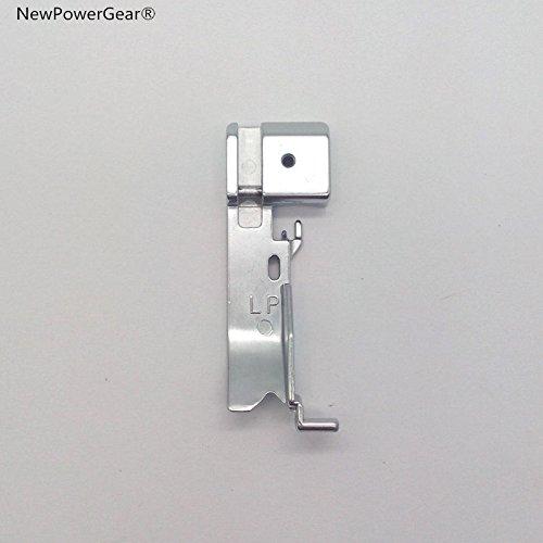 634d Serger - NewPowerGear Serger Piping foot Replacement For Bernina 800 Brother 526, 526D, 546, 546D, 626D, 634D, 730DE