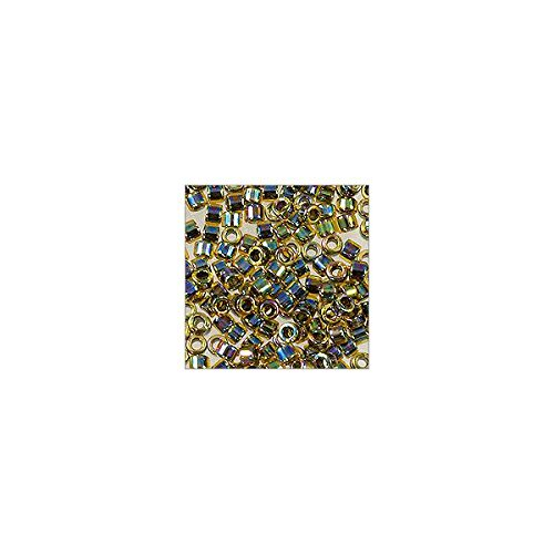 (Miyuki Delica Seed Bead 11/0 Iris Bright Green AB (36 Grams))