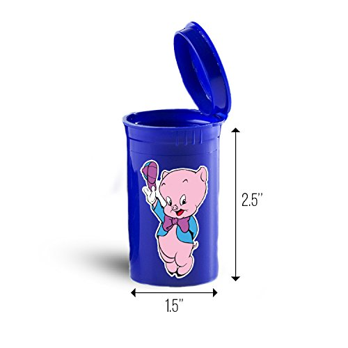 Porky Pig Cartoon Drug Case, Pill Organizer Box ID 3144B
