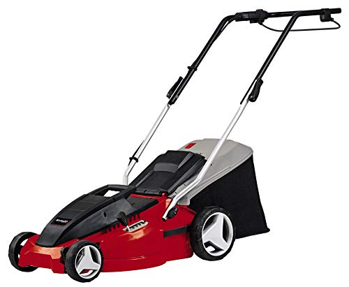 Einhell GC-EM 1536 1500 W Electric Rotary Lawnmower with 36 cm Cutting Width - Red