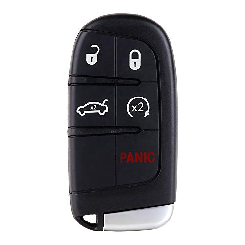 ECCPP Replacement fit for Uncut Keyless Entry Remote Key Fob Chrysler 300/ Dodge Charger/Jeep Grand Cherokee M3N32337100 (Pack of - Keyless Chrysler Entry Programming