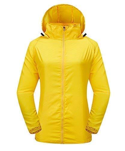 LakeRom Unisex Lightweight UV Protect Hooded Quick Dry Windproof Skin Coat Women Jacket