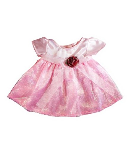 Pink Rose Dress Outfit Fits Most 8