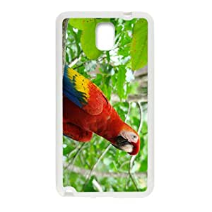 Cute Acutilingual Parrot Hight Quality Plastic Case for Samsung Note3