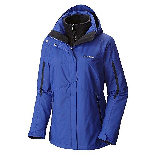Plus Size Sportswear (Columbia Women's Plus Size Bugaboo Interchange Jacket, Clematis Blue, 1X)