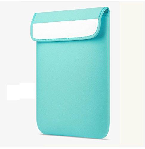 YiJee Fundas para Portatil Funda Blanda Bolso Sleeve para Ordenador Portátil 13 Pulgada Verde 2