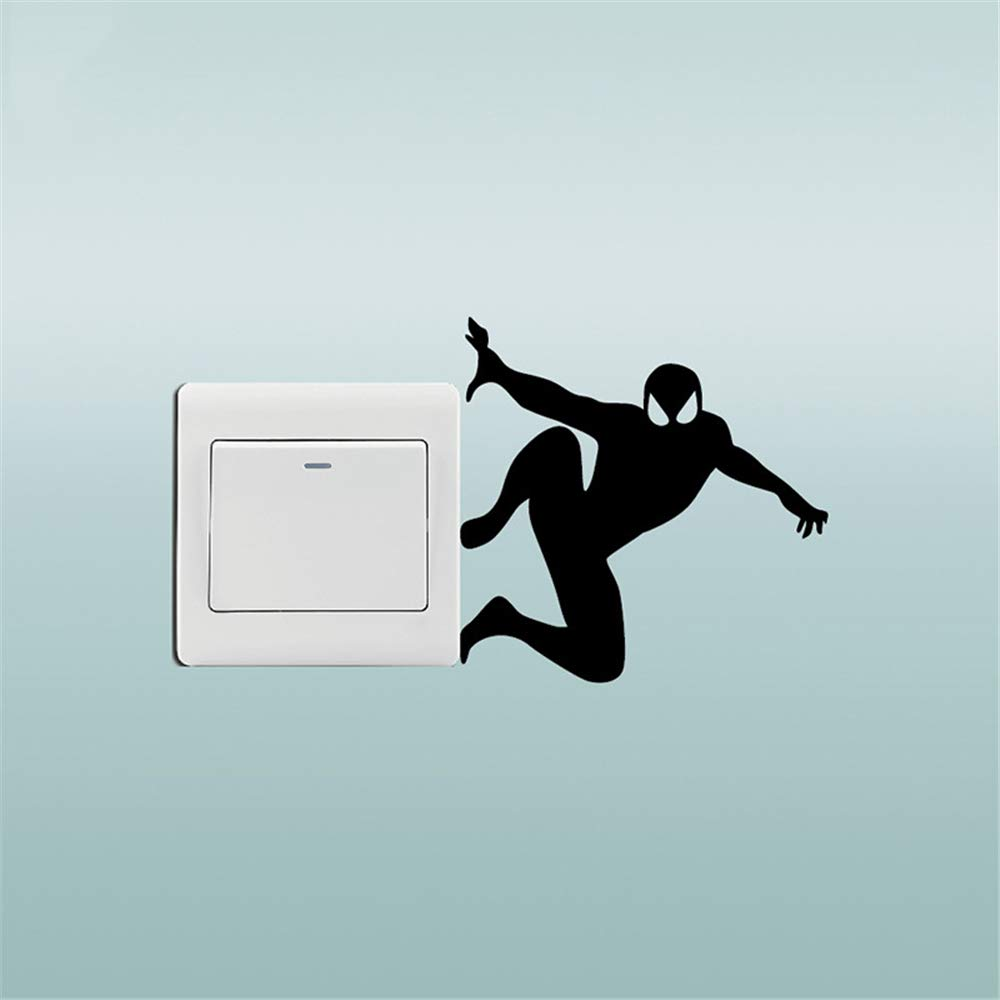 pegatinas de pared tortugas ninja Creative Spiderman ...