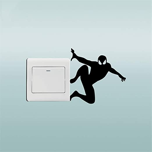 pegatinas de pared tortugas ninja Creative Spiderman ...