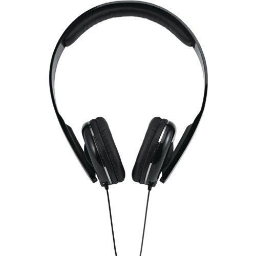Sangean EU-55 Full Size Stereo Headphones, Black