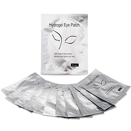 MyAoKuE-UP 120 Pairs Set, Under Eye Pads Lint Free Eye Gel Patches for Eyelash Extensions Premium Lash Pad Eye Mask Beauty Tools by MyAoKuE-UP