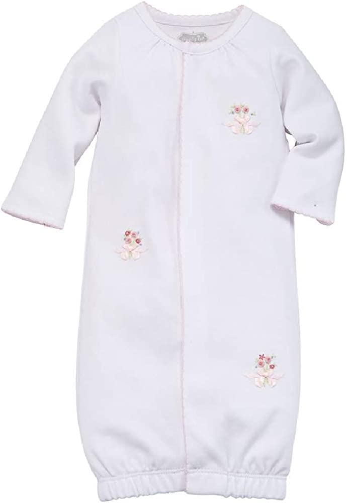 Mud Pie Baby Girl's Rosette Sleep Gown (Infant)