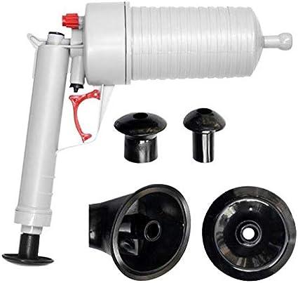 Toilet Dredge Plug Air Power Drain Pump Verstopping Riool Gootstenen Geblokkeerd Schoonmaak Tool Badkamer Draincleaners Wc Ontstopper Color Gray Amazon Nl