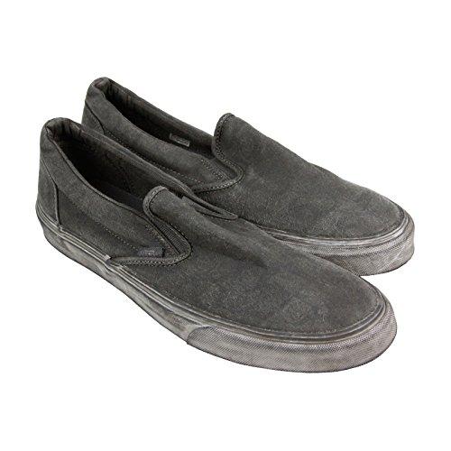 Vans Klassiske Slip-on (overwash) Black Vn0004ouiti 6.5