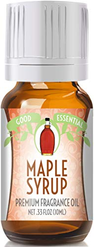 Oil Syrup - Maple Syrup Scented Oil by Good Essential (Premium Grade Fragrance Oil) - Perfect for Aromatherapy, Soaps, Candles, Slime, Lotions, and More!