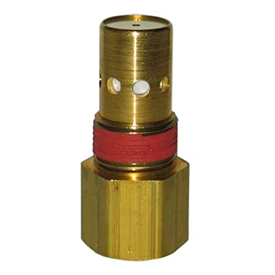 Powermate Vx 031-0020RP 3/4-Inch NPT O.D. by 3/4-Inch NPT I.D. with 1/8-Inch Bleeder Check Valve